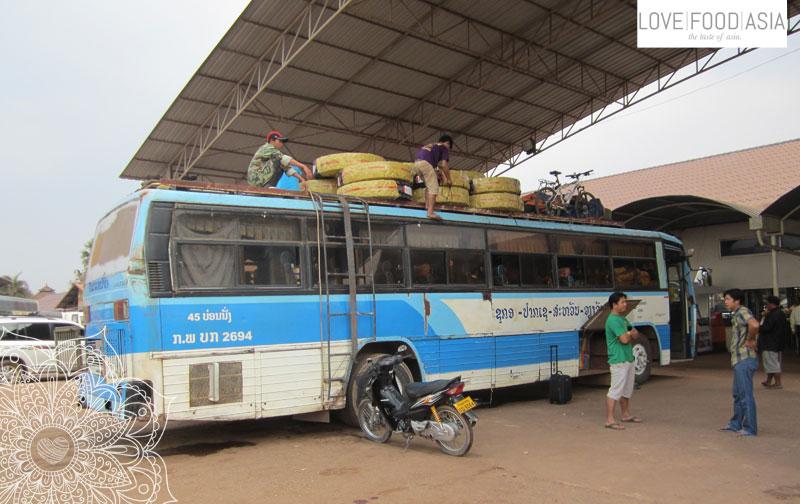 Bus in Vientiane