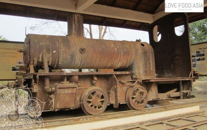 Alte Eisenbahn auf Don Det