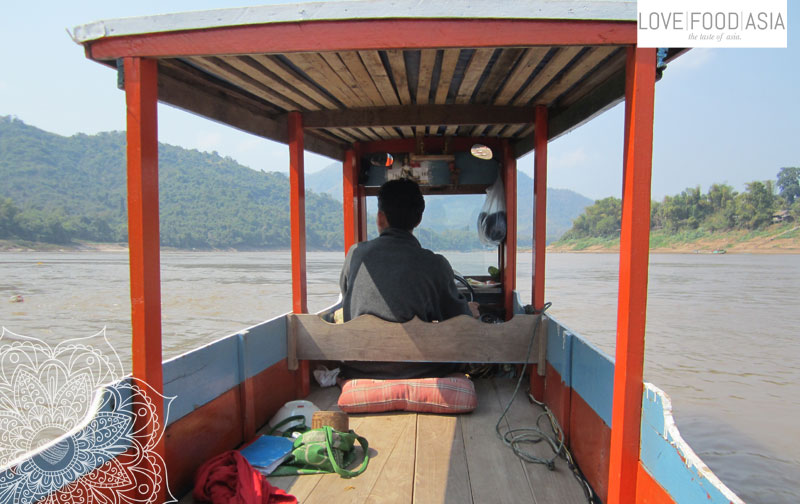 My boat on the Mekong