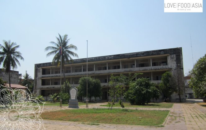 The Tuol Sleng Museum in Phom Penh