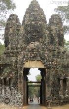 Eines der Tore von Angkor