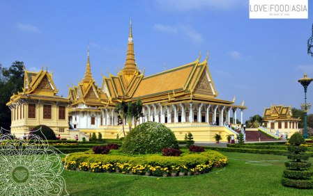 Kings palace Phnom Penh
