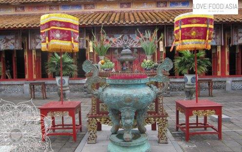 The citadel of Hue