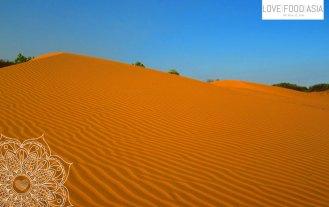 Die roten Dünen von Mui Ne