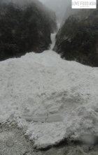 Avalanche near Chame