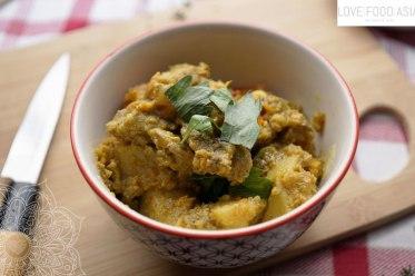 Vietnamesisches Hähnchencurry (Cà ri gà)