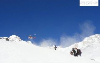 Hubschrauber am ABC