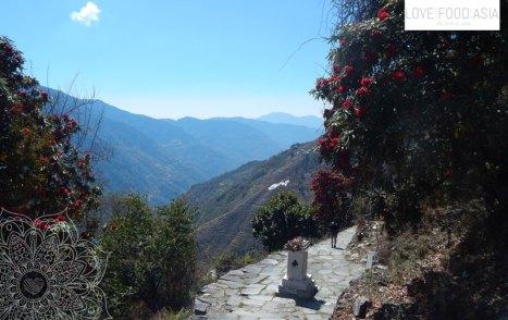 Wunderschöne Landschaft bei Sinuwa