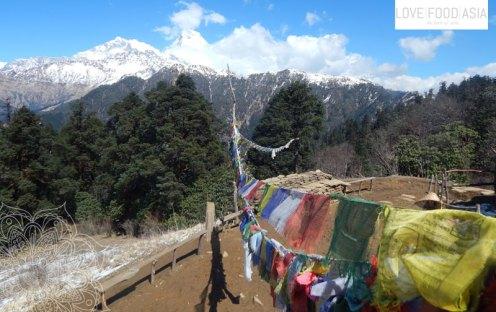 Super Aussichtspunkt bei Gorapani