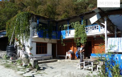 Our last guesthouse on our trip
