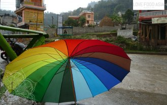 Umbrella in Pokhara