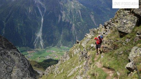 Down to Längenfeld