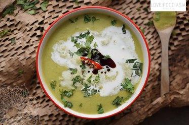 Asian Green Peas Soup