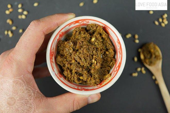 Hausgemachte Kormapaste