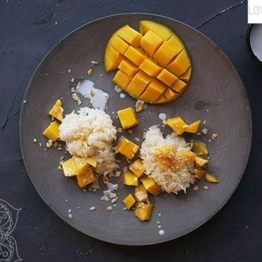 Sweet Sticky Rice Mango