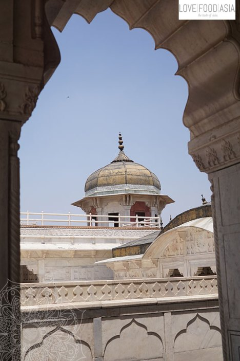 Tower at the Agra Red Fort