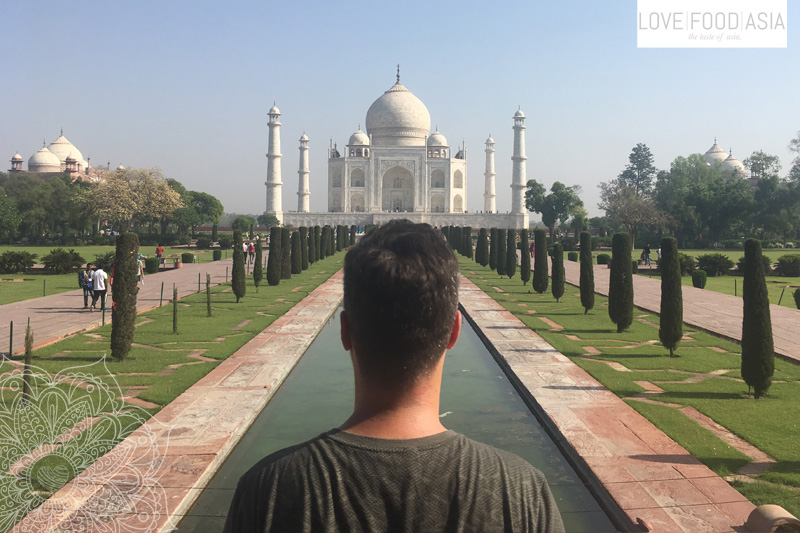 Martin at the Taj Mahal