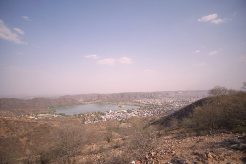 View on Jaipur from Nahargarh Fort