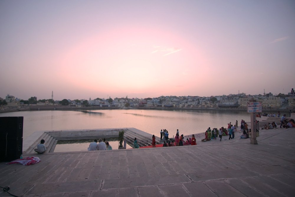 Pushkar Holy Lake