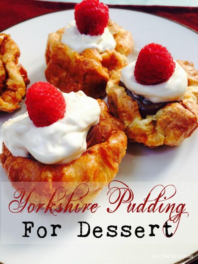 dessert yorkshire pudding