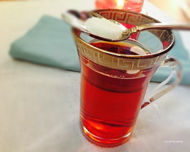flaming tea