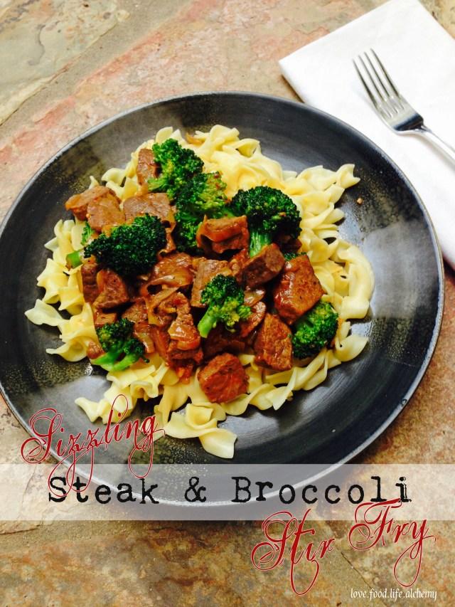 Sizzling Steak And Broccoli Stir Fry