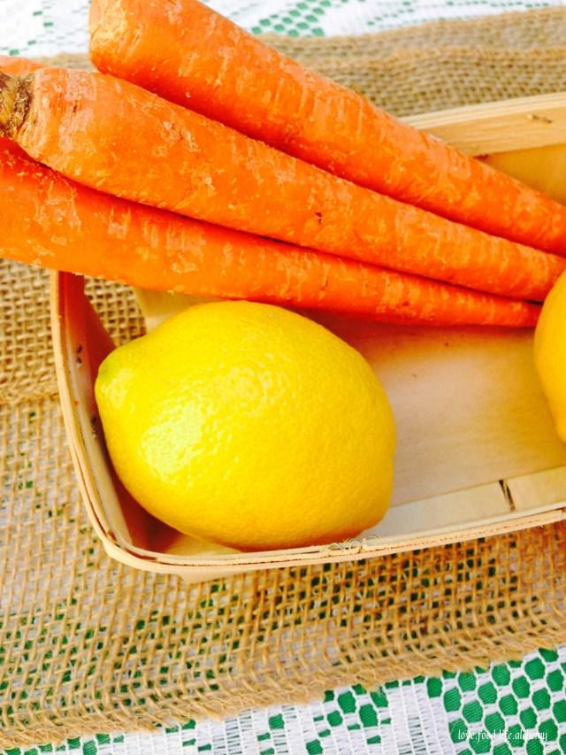 carrots and lemons