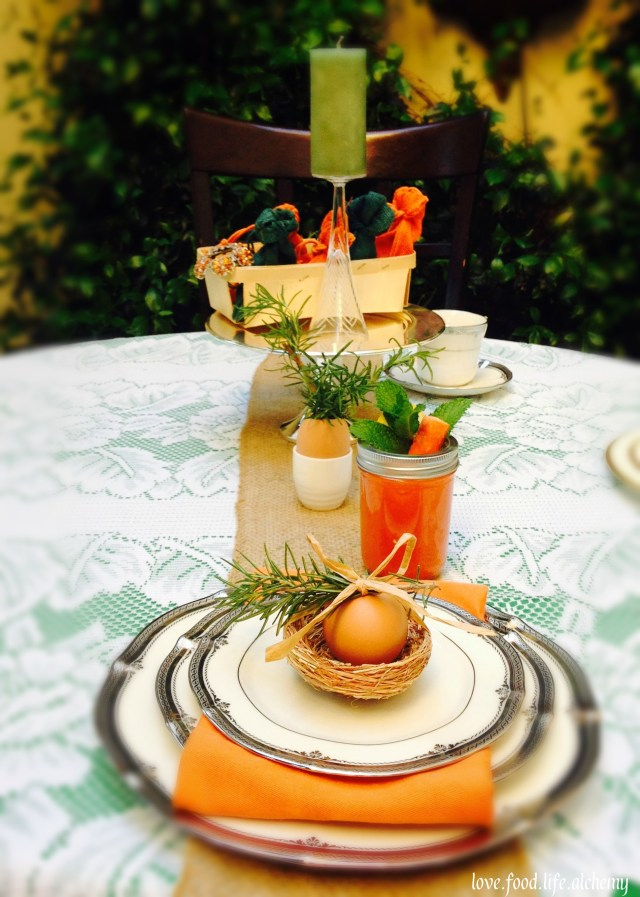 chic country easter table 2