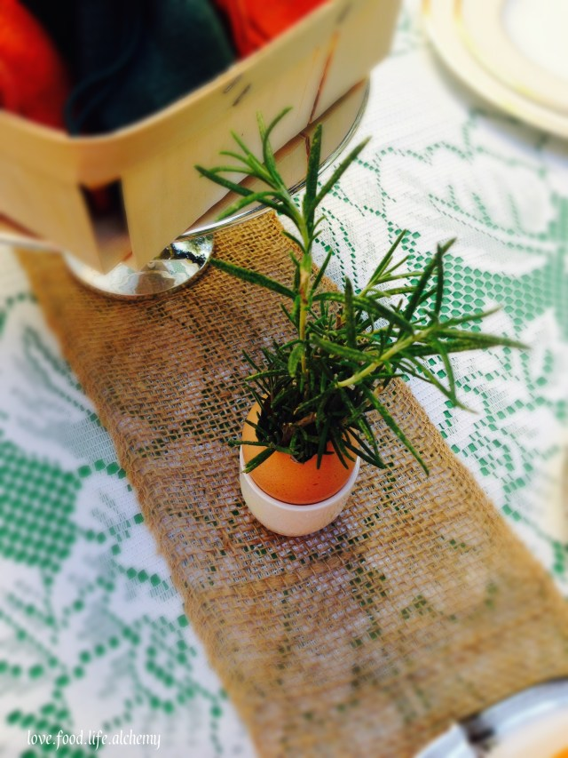 country chic easter deocrations