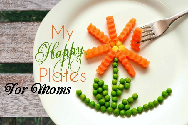 mothers day happy plates