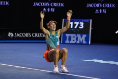 First Grand-Slam victory for Angelique Kerber