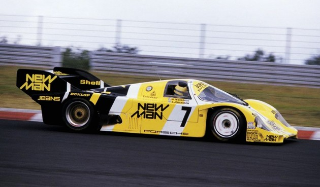 Ayrton Senna in the Porsche 956 for the Joest Racing Team ( 1984 Nürburgring 1000KM)