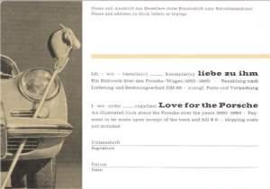 black/gold Liebe zu Ihm postcard