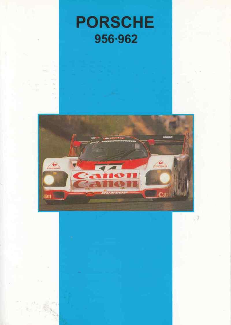 Porsche 956 - 962 Book Cover