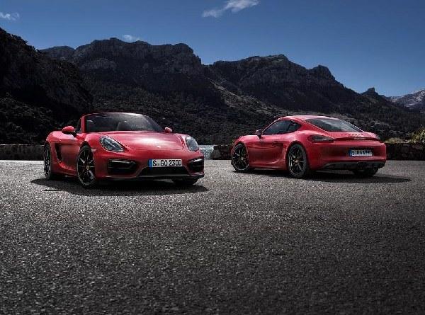 2014 Boxster GTS & Cayman GTS