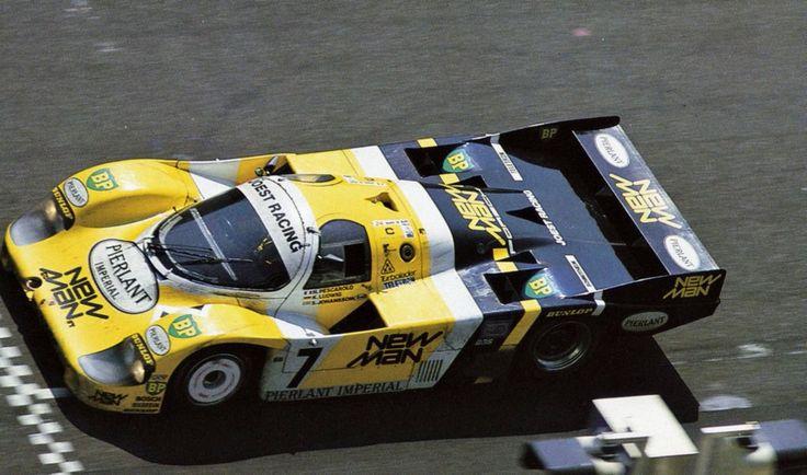 Le Mans 1984 - Klaus Ludwig, Henri Pescarolo a in a Porsche 956