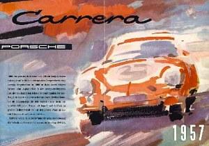 Porsche 356 A Carrera brochure