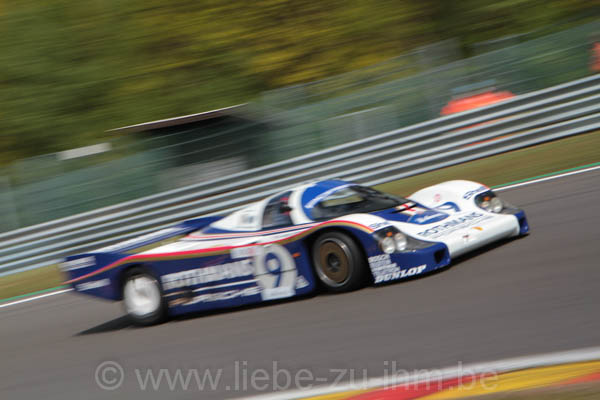 Spa Classic 2014 / Andy Prill / Porsche 962C