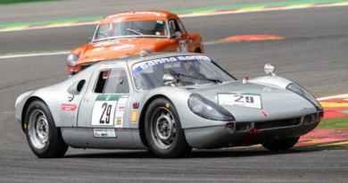 Afschin Fatemi in Porsche 904