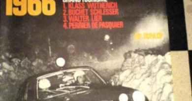 1966 Monte-Carlo Porsche Poster