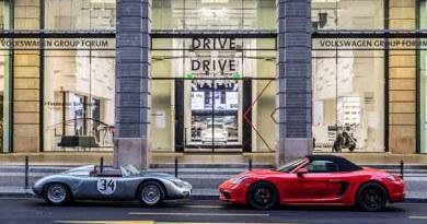 Porsche Brand exhibit Berlin