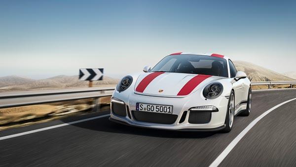 The 2016 Porsche 911R