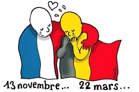 Attacks Brussels