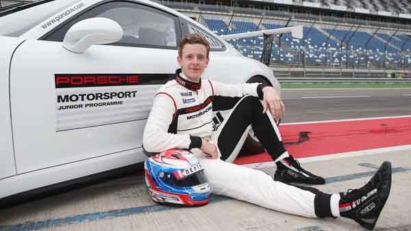 Porsche junior Dennis Olsen