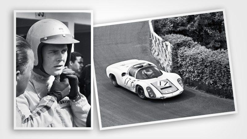 Porsche 910 Udo Schutz 1967 1000KM Nurburgring