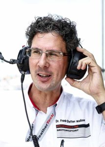 Dr. Frank-Steffen Walliser (Head of Porsche Motorsport)
