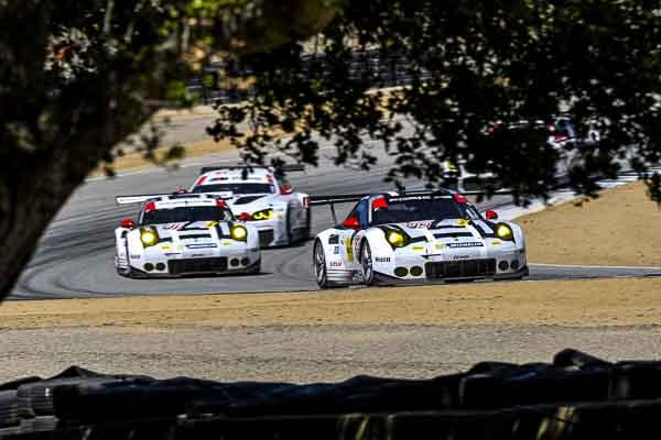 IMSA Laguna Seca 4th win for porsche 911RSR