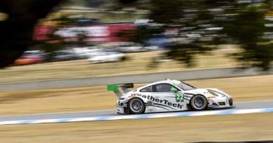 Porsche 911 GT3 R, Alex Job Racing: Leh Keen, Cooper MacNeil