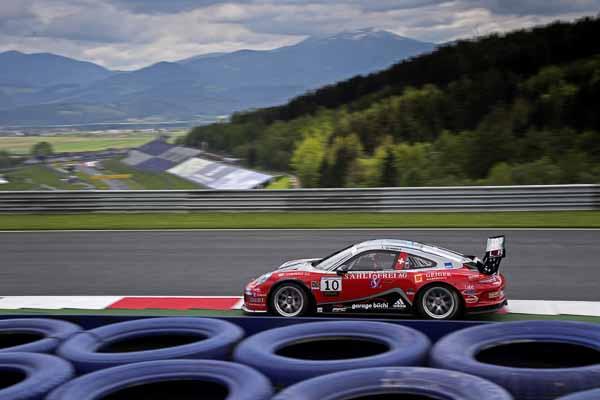 Jeffrey Schmidt (CH)  Porsche Carrera Cup Deutschland - 03 Spielberg 2016