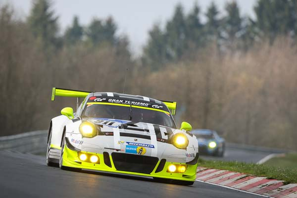 Porsche 911 GT3 R, Manthey Racing: Earl Bamber, Kevin Estre, Patrick Pilet, Nick Tandy